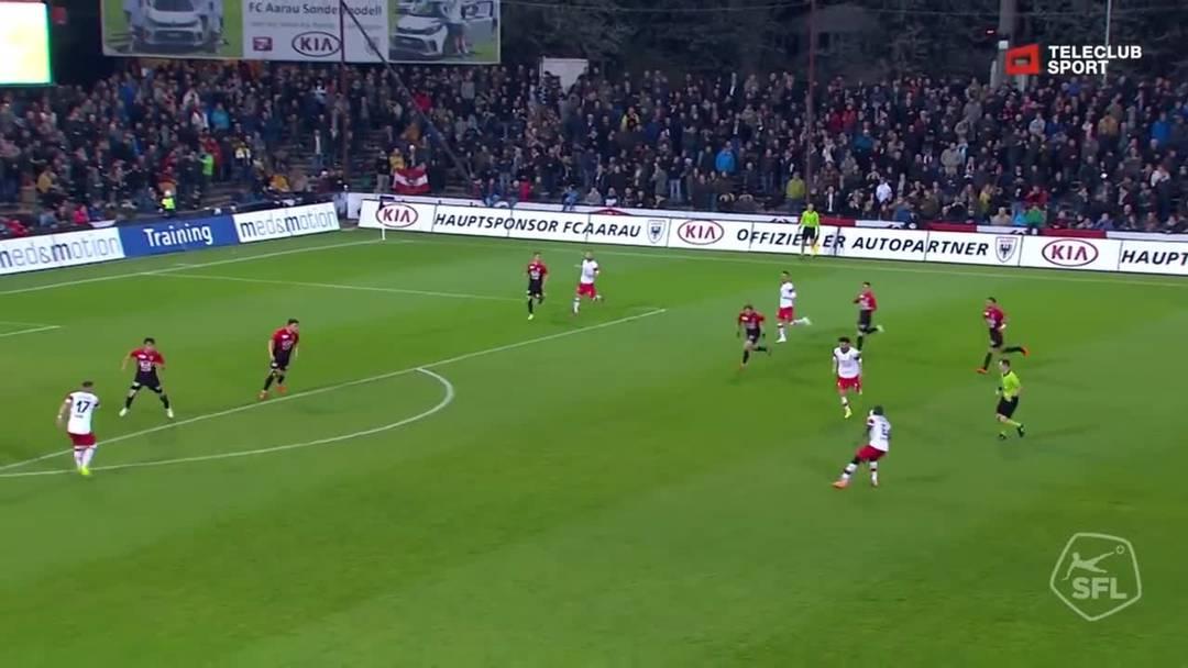 64. Minute: Nach einer Druckphase gelingt den Winterthurern endlich der Treffer zum 1:1. Nach einem Assist von Ousmane Doumbia gelingt dem unbedrängten Luka Sliskovic ein strammer Distanzschuss - für Djordje Nikolic unhaltbar.