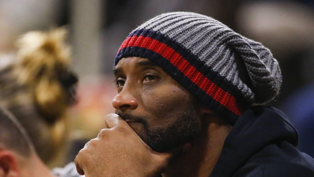 Kobe Bryant bei einem Basketballspiel im letzten Dezember.
