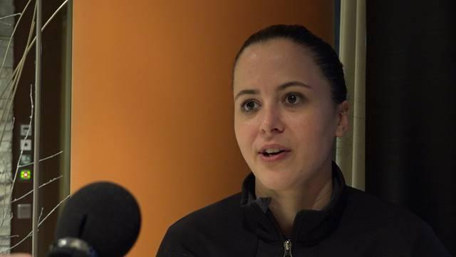 Elizabeth Eastman sagt, weshalb sie den FC Schlieren gewählt hat.