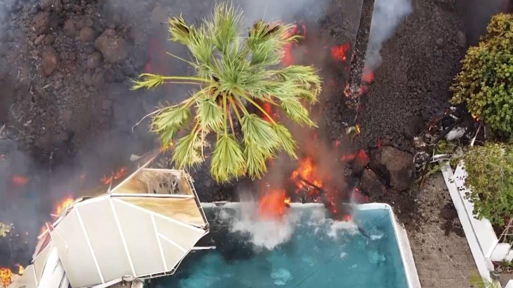 Grosse Schäden durch Vulkan auf Kanareninsel