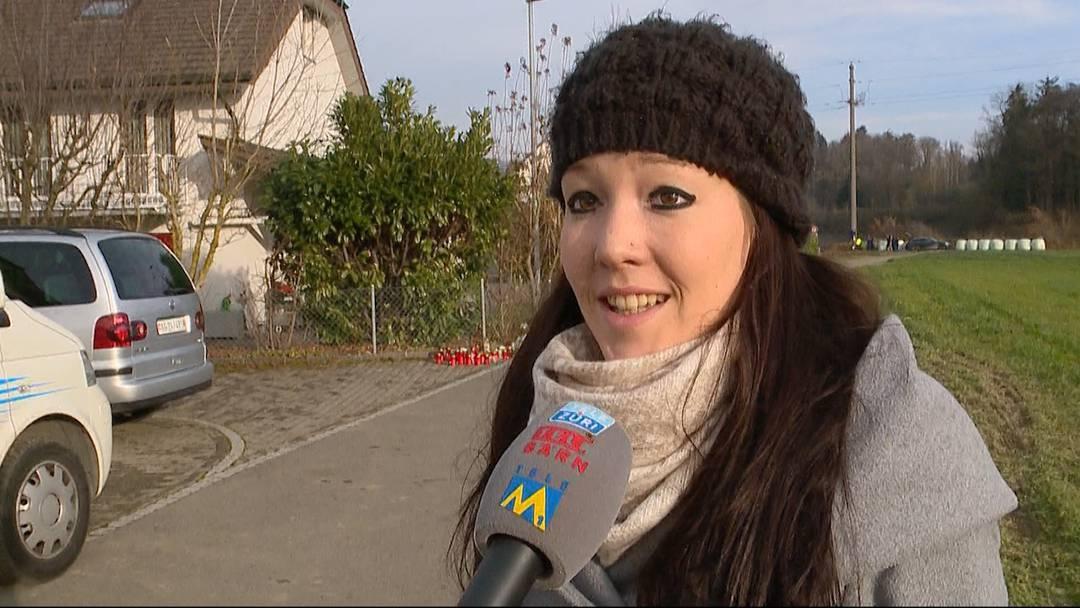 Grosse Trauer in Rupperswil: Das sagen Quartierbewohner, Bekannte und der Gemeindeschreiber. (Tele M1, 22.12.2015)