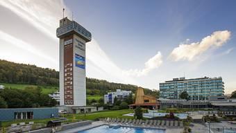 Seine Ästhetik ist umstritten: das Turmhotel in Bad Zurzach.