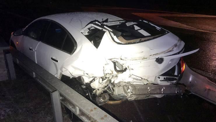 Der 38-jährige Opel-Fahrer blieb unverletzt.