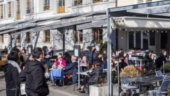 Der «Schmale Wurf» am Rhein profitiert von den vielen Sonnenstunden.