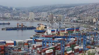 Der Erdrutsch ereignete sich an einem der Hänge oberhalb der Hafenstadt Valparaiso in Chile. (Archivbild)