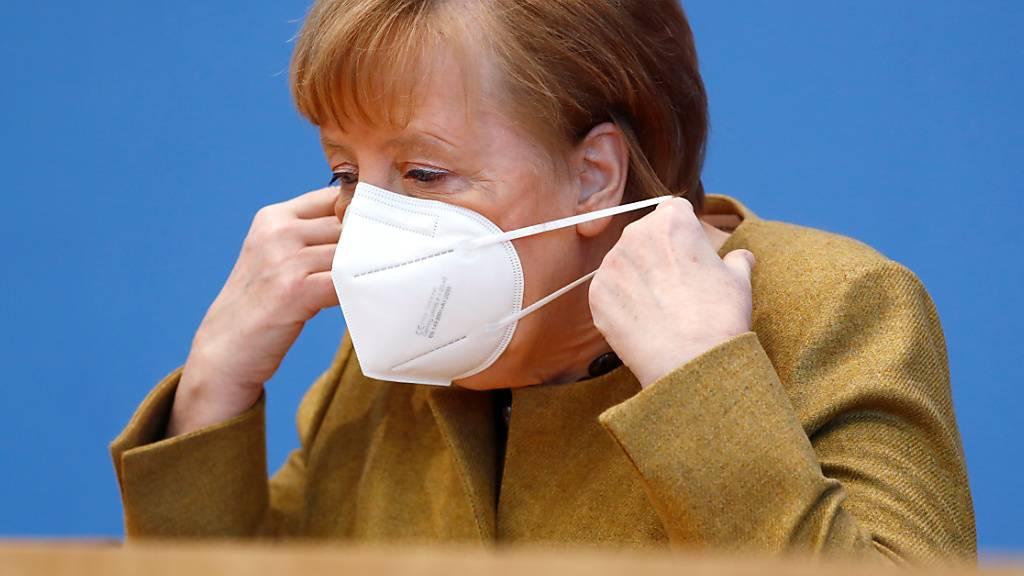 Merkel: Mühen des Lockdowns beginnen sich auszuzahlen