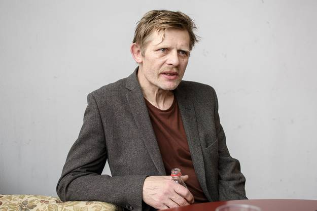 Interviewtermin mit dem Schauspieler Marcus Signer