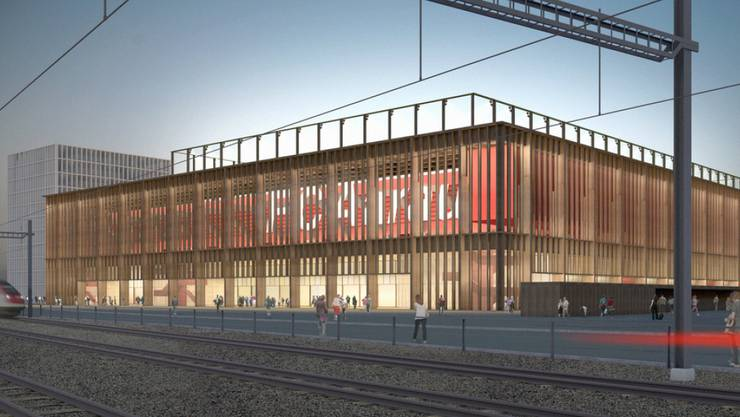 Laut Stadtrat braucht es für den Plan B, bei dem das Stadion statt mit einem Einkaufszentrum durch Hochhäuser (Wohnen und Gewerbe) querfinanziert wird, keine neue Volksabstimmung.