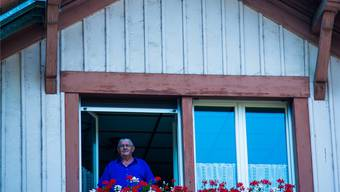 Kurt Marti lebt seit 1974 im Stationshaus aus dem Jahr 1875. Voellmy