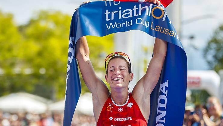Nicola Spirig gewann im Vorjahr den Weltcup in Lausanne