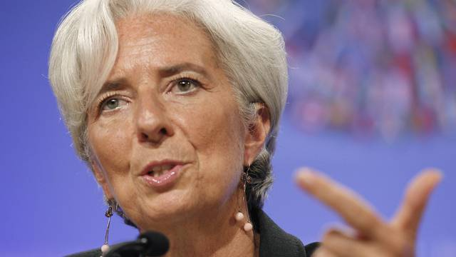 Christine Lagarde ist zuversichtlich, dass es Lösungen für die Schuldenkrise in Europa gibt