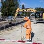 In den beiden Basel sollen im Strassenbau vermehrt recycelte Baumaterialien verwendet werden. (Symbolbild)