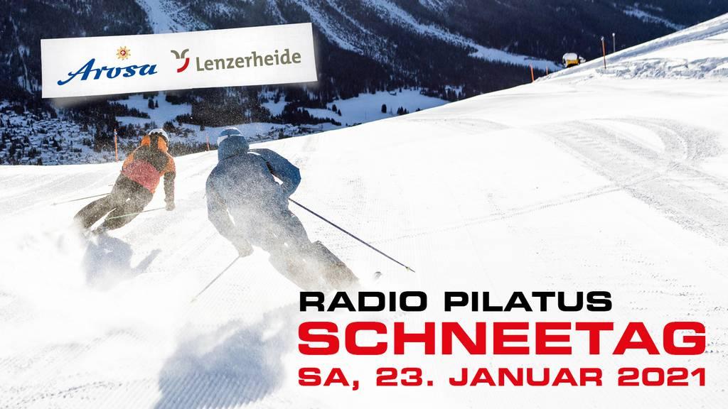 Radio Pilatus Schneetag 2021 in Arosa Lenzerheide