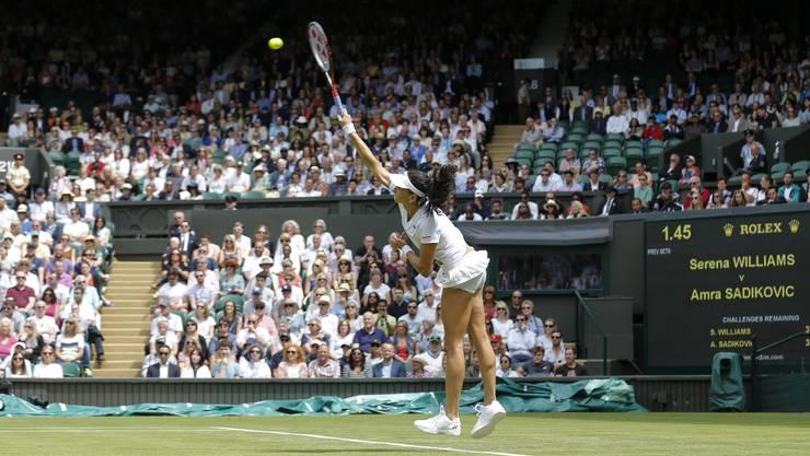 Riesenauftritt von Amra Sadikovic aus Birr in Wimbledon: Ein Moment zum Geniessen!