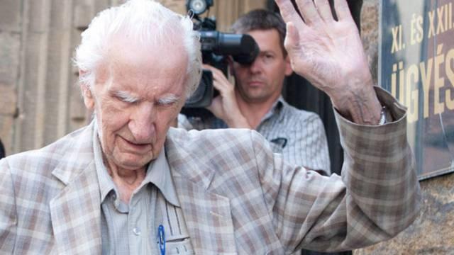 Der mutmassliche Kriegsverbrecher Laszlo Csatary in Budapest (Archiv)