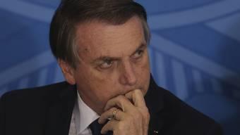 Brasiliens Präsident Jair Bolsonaro hat am Dienstag einen Rückschlag bei der Umsetzung eines lockereren Waffenrechts in seinem Land erlitten. (Archivbild)