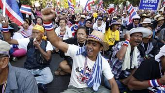 Proteste in Thailand