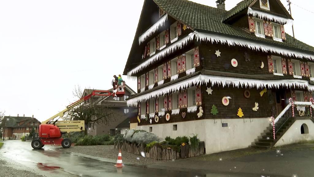 Bauernhaus in Emmen wird zum Chnusperhäuschen