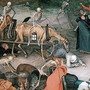 Die Tod holt sich seine Opfer – so interpretierte im Mittelalter der Maler Hieronymus Bosch die immer wiederkehrenden Pestzüge.