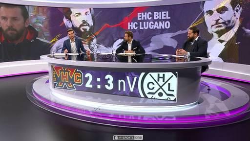 Der Back Check: EHC Biel - HC Lugano