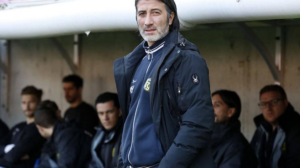 Schaffhausens Coach Murat Yakin sieht einen weiteren Sieg seiner Elf