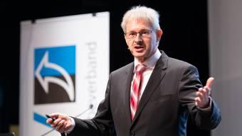 Kurt Schmid, Präsident des Aargauischen Gewerbeverbandes, ist enttäuscht über das Aus für die NAB