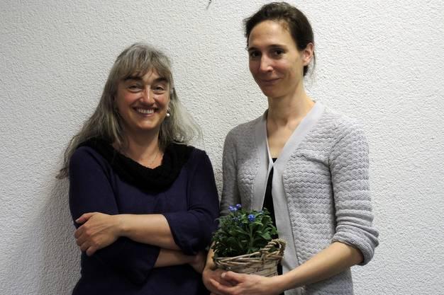 Margreth Stammbach und Daniela Dreizler