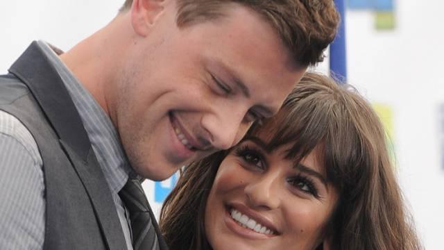 Noch glücklich vereint: Lea Michele und Cory Monteith (Archiv)