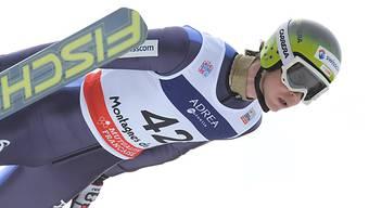 Tim Hug in Ramsau in den Top 20