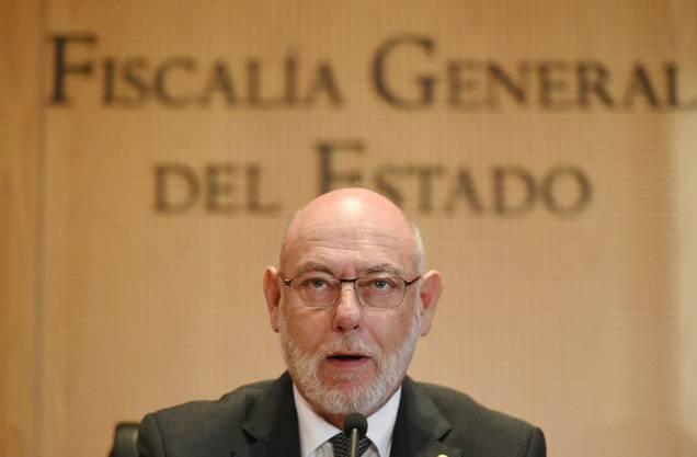 Ankläger: Generalstaatsanwalt José Manuel