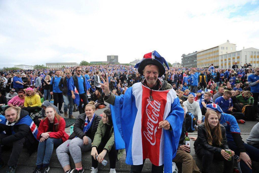 Island gegen England (© KEYSTONE)