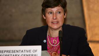 Abrüstungsbeauftragte Angela Kane mahnt die Atomstaaten (Archiv)