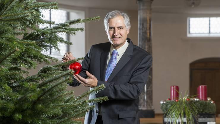 Für Pfarrer Philipp Nanz ist der Advent eine sehr intensive Zeit.