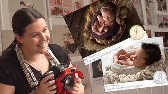 Ihre jüngsten Models sind nur ein paar Tage oder Wochen alt: Laura Kissling gewann nun den 1. Platz eines internationalen Wettbewerbs für Babyfotografie.