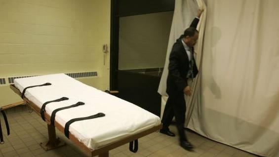 Hinrichtungsraum im Gefängnis von Lucasville, Ohio (Archiv)