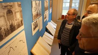 Vernissage Ausstellung Männerchor Dietikon im Ortsmuseum