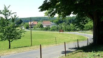 Die Strasse, die rechts im Bild nach Muttenz abzweigt, wird gesperrt. Davon betroffen ist auch das Restaurant Schönmatt.