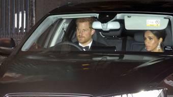 Prinz Harry und Herzogin Meghan ziehen um: von London nach Windsor. (Archiv)