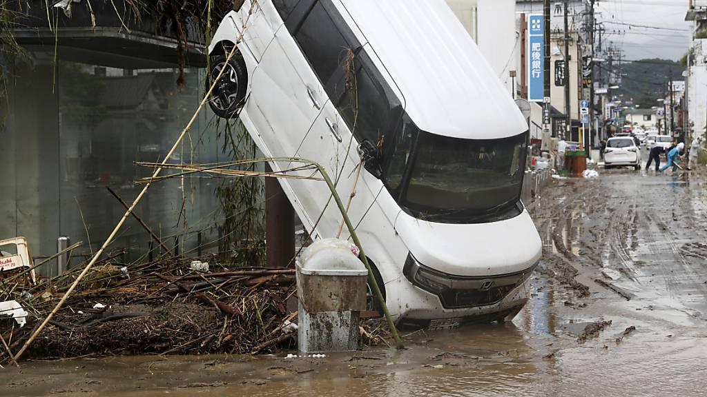 Mindestens 41 Tote in Überflutungsgebieten
