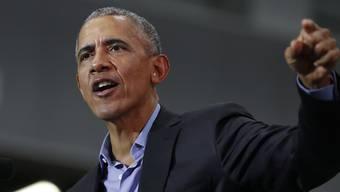 Flickt seinem Nachfolger Donald Trump am Zeug: Barack Obama, ehemaliger US-Präsident. (Archivbild)