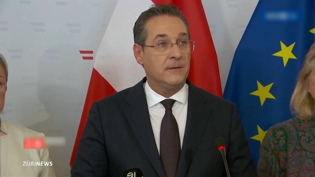 Nach Skandal-Video: Vizekanzler Strache tritt zurück