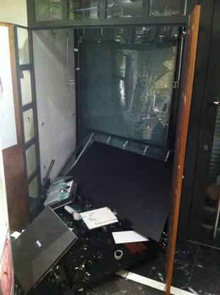 Im Laden entstand ein grosser Sachschaden