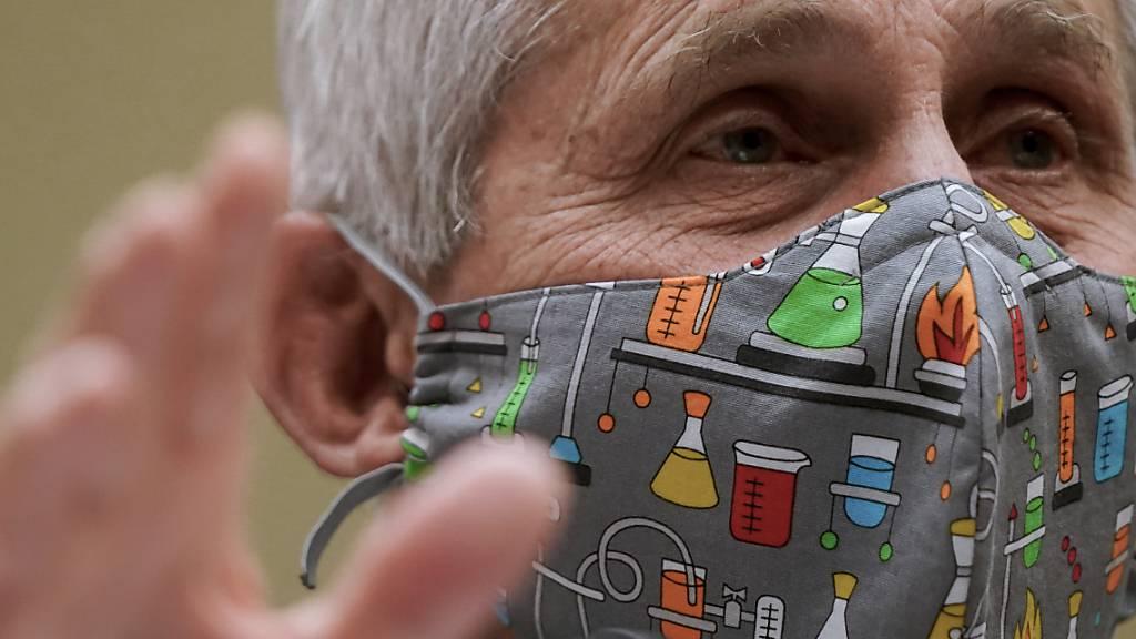 Der Immunologe Anthony Fauci berät die US-Regierung. Foto: Amr Alfiky/Pool The New York Times/AP/dpa