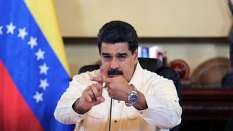 Kanada hat Strafmassnahmen gegen das Regime von Präsident Maduro in Venezuela erlassen. (Archivbild)