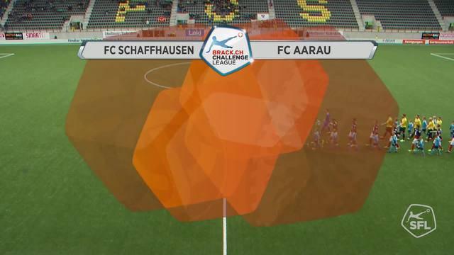 FC Schaffhausen - FC Aarau, 07.05.2016, Highlights