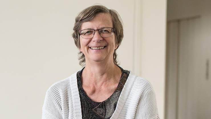 Regula Meschberger (SP) tritt nach 14 Jahren im Landrat zurück und wird verabschiedet.