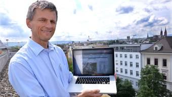 «Der Himmel ist immer spannend»: Meteoblue-CEO Karl G. Gutbrod.Niz