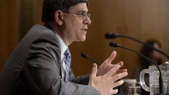 Jack Lew bei seiner Anhörung im amerikanischen Senat