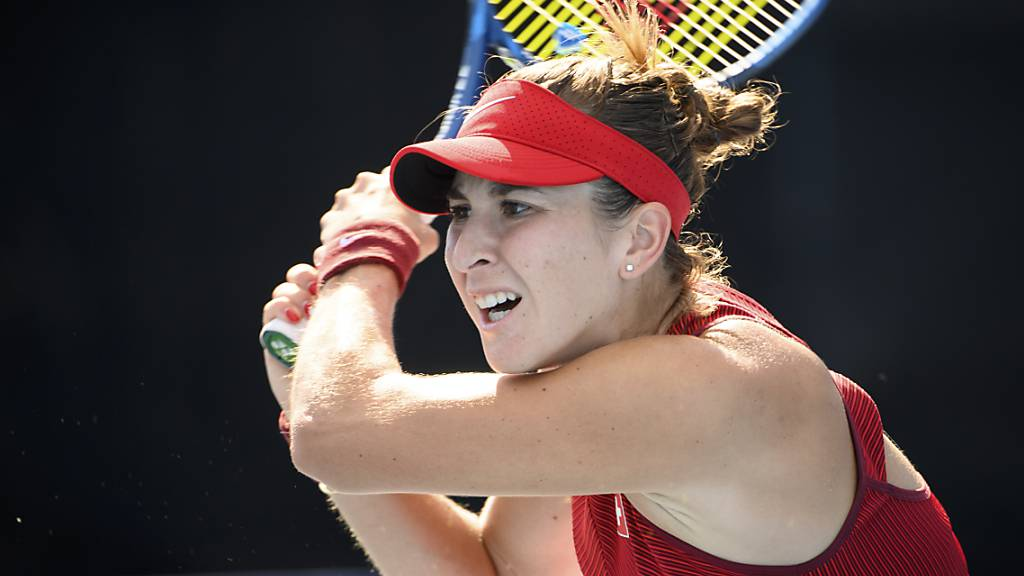 Viel Arbeit für den olympischen Traum: Belinda Bencic