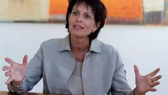 «Die SRG erhält genau gleich viel Geld, egal,ob die Bevölkerung Nein oder Ja sagt zum Radio- und Fernsehgesetz»: Medienministerin Doris Leuthard. Lukas Lehmann Keystone
